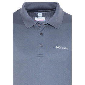 Columbia Zero Rules Polo Shirt Men graphite